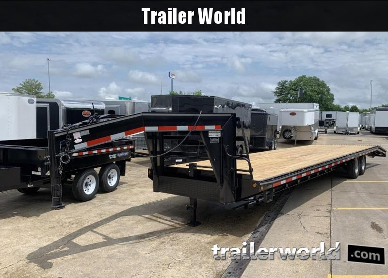 2019 Better Built 36'   7 Ton Gooseneck Flatbed Trailer in Ashburn, VA
