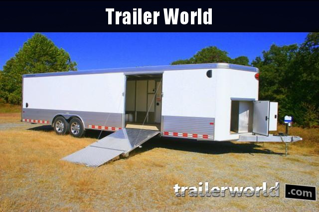 2019 Sundowner 30' Custom Aluminum Enclosed Car / Cargo Trailer