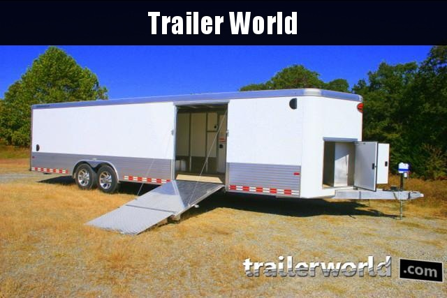 2019 Sundowner 30' Custom Aluminum Enclosed Car / Cargo Trailer