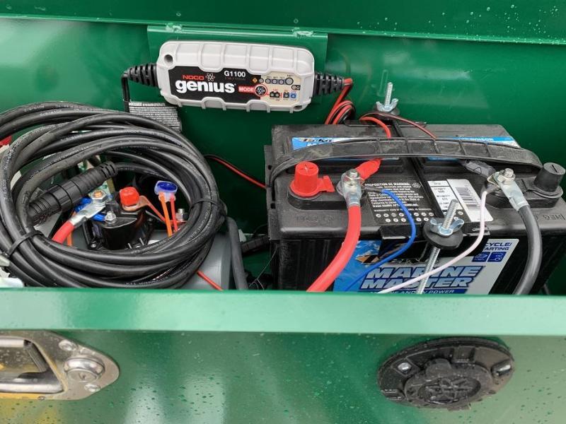 2019 Sure-Trac 12' Dump Trailer 14K GVWR Telescopic Hoist