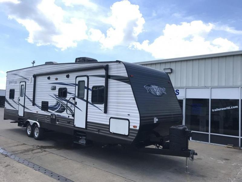 2017 K-Z Sportsmen Sportster 30TH12 Toy Hauler