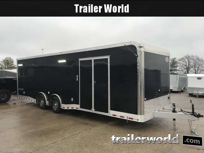 2019 Cargo Mate Eliminator Aluminum 28' Race Trailer