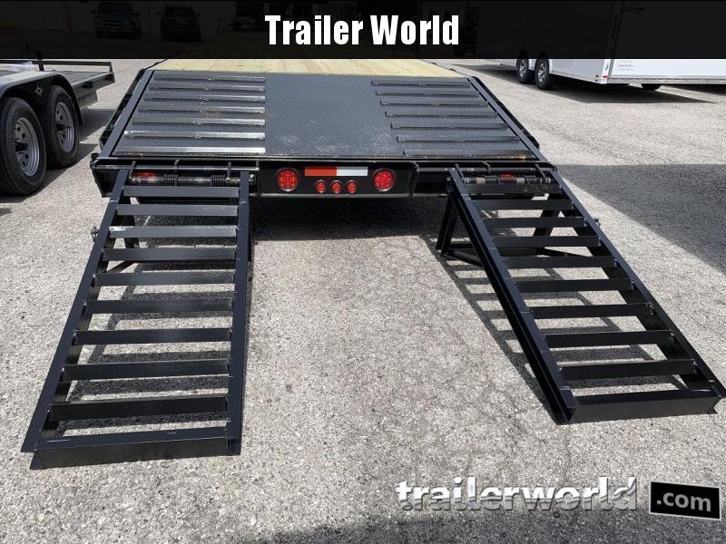 2019 Better Built 25' + 5'  7 Ton Gooseneck Flatbed Trailer