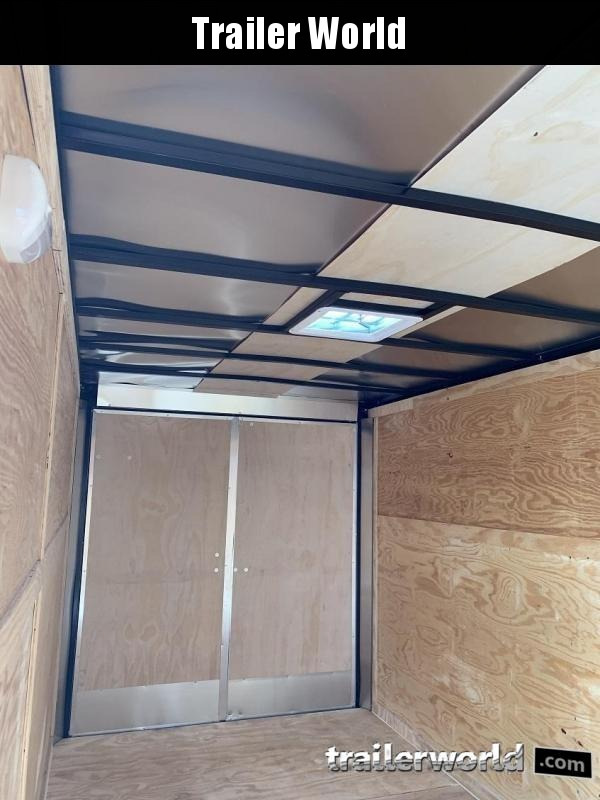 2019 CW 7' x 16' x 6.5' Vnose Enclosed Cargo Trailer Double Doors