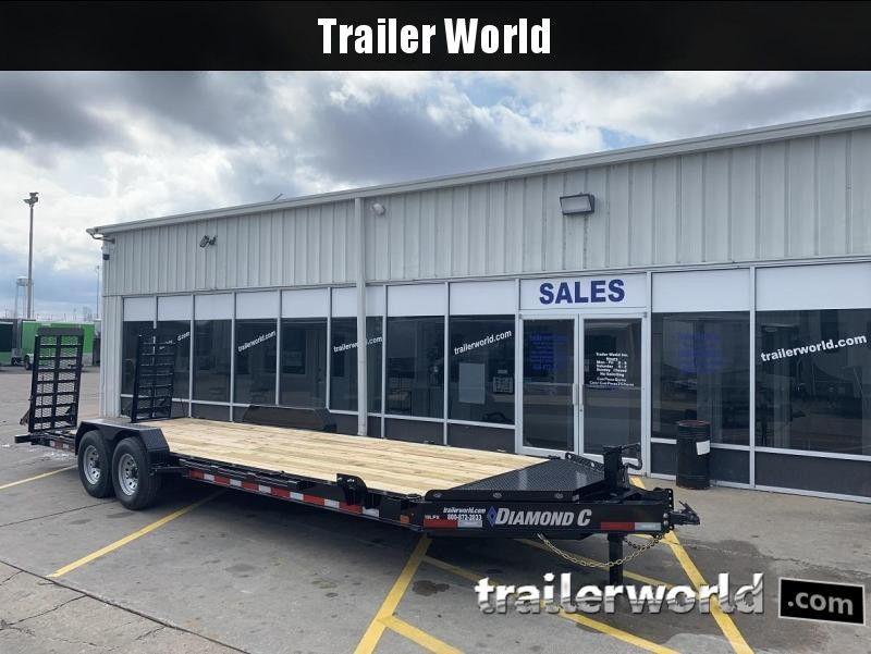 2019 Diamond C LPX 24' Equipment Trailer 15k GVWR