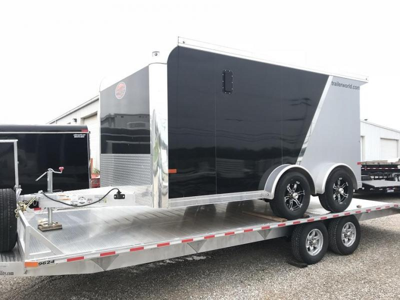 2019 Sundowner  7.5' x 13' Enclosed Aluminum Motorcycle Trailer
