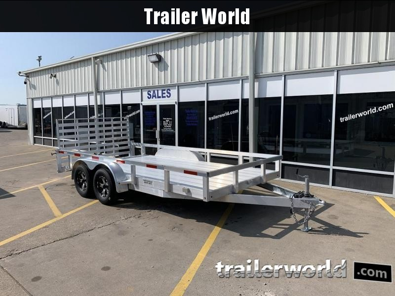 2019 Trailer World 16' Aluminum Utility Trailer