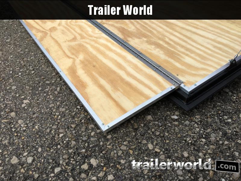 2020 CW 7' x 12' x 6.5' Vnose Enclosed Trailer Ramp Door