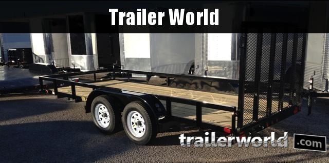 2018 Big Tex Trailers 50LA 14' x 6.5' Tandem Utility Trailer