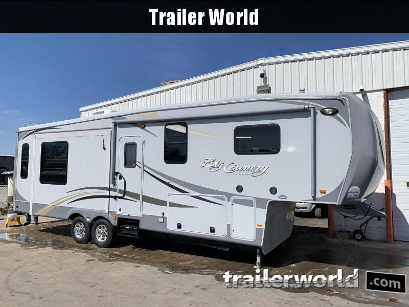 2011 Heartland 3250TS Big Country Fifth Wheel Camper