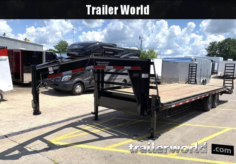 2019 Better Built Gooseneck Flatbed 25' Equipment Trailer 7 Ton