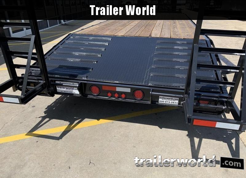 2019 Better Built Gooseneck Flatbed 25' Equipment Trailer 7 Ton