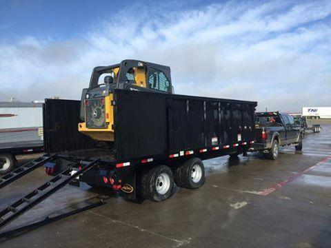 2019 Big Tex Trailers 25DU-20' Dump Trailer 25900 GVWR