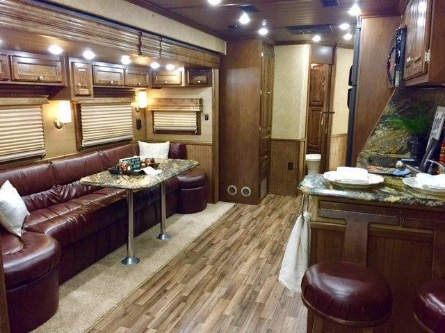 2018 Sundowner Trailers 48 Living Quarters Trailer Open Floorplan