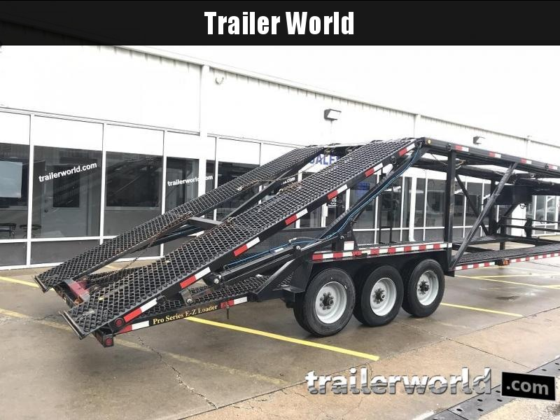 2016 Kaufman Trailers Double Deck Mini 5 Car Hauler Trailer