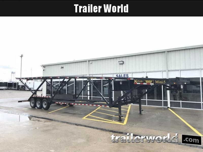 2016 Kaufman Trailers Double Deck Mini 5 Car Hauler Trailer  in Ashburn, VA
