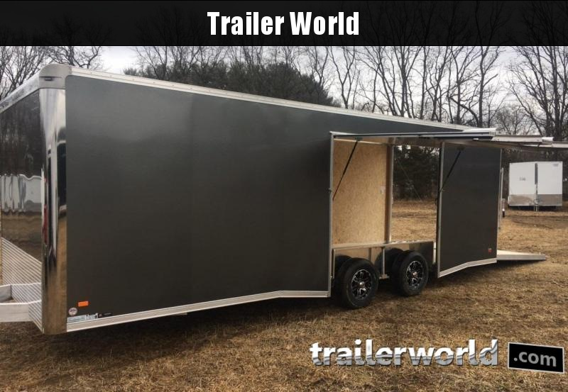 2019 Bravo Star 24' Aluminum Enclosed Car Trailer