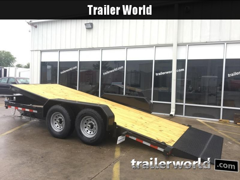 2019 Sure-Trac 7' x 18' Tilt Bed Equipment Trailer  14k GVWR