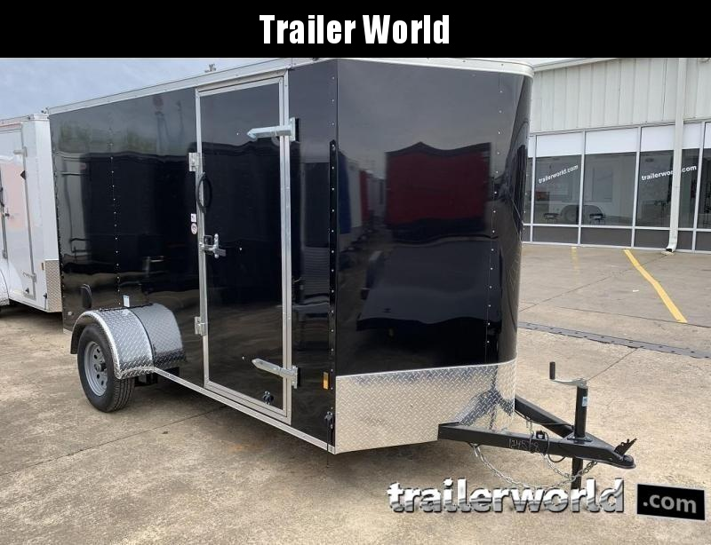 2020 Continental Cargo 6' x 12' x 6.3' Trailer w Ramp Door