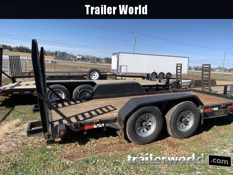 2013 Better Built 16' Low Profile 7 Ton Equipment Trailer