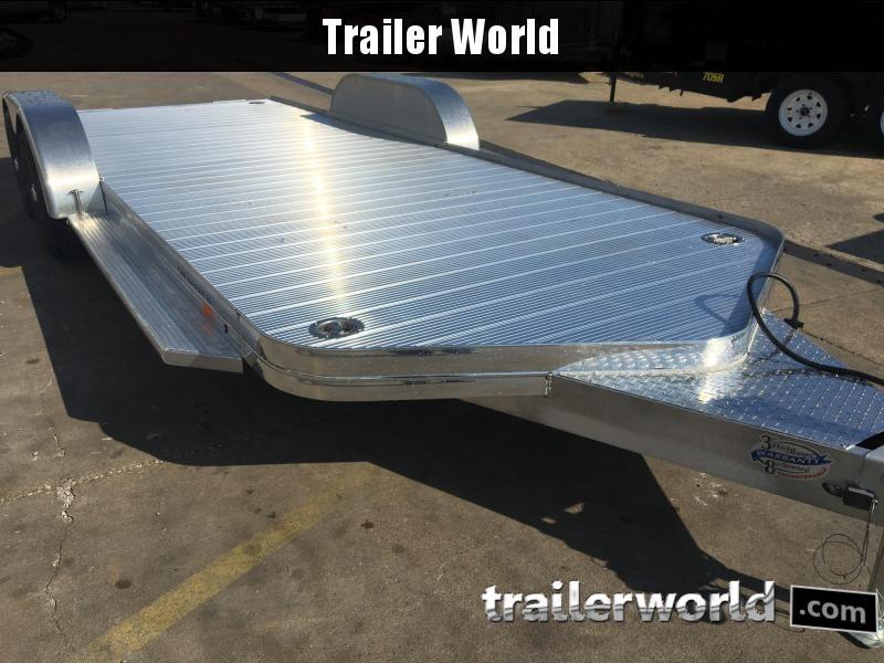 2018 Sundowner 20' Aluminum Tapered Front Open Car Hauler Trailer