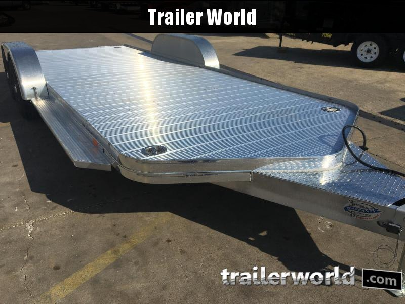 2018 Sundowner 20' Aluminum Tapered Front Open Car Hauler Trailer in Ashburn, VA