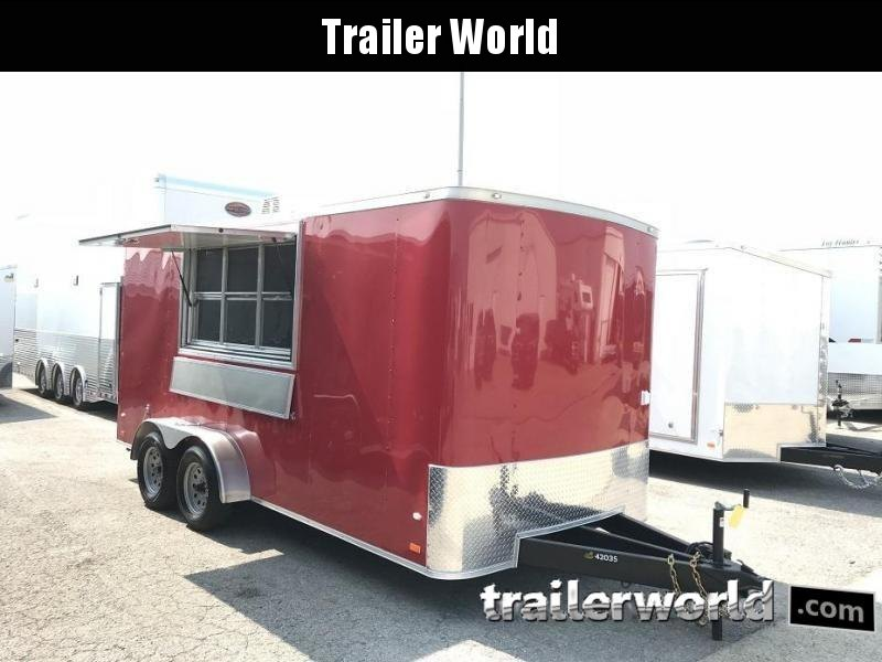 2019 CW 7' x 16' x 7'  Vendor / Concession Trailer