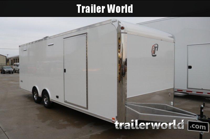 2019 inTech  24' Lite Aluminum Enclosed Car / Race Trailer