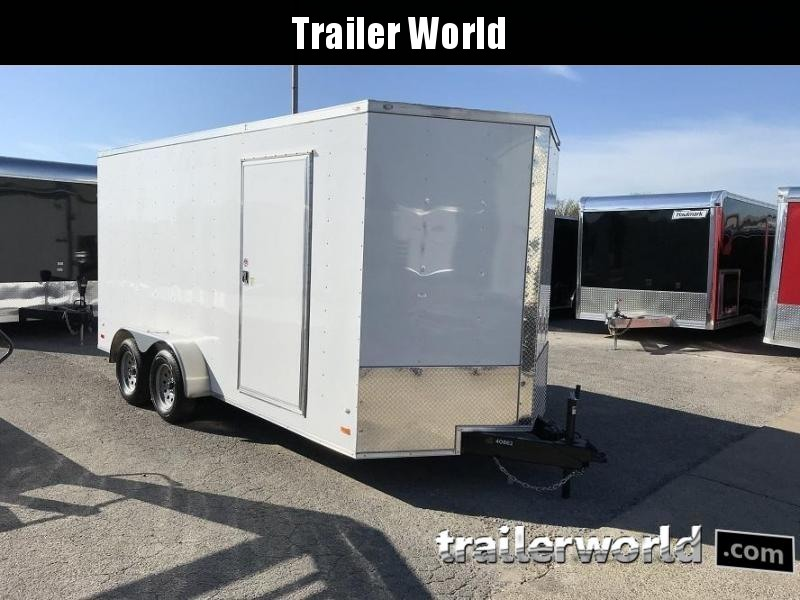 2019 CW 7' x 16' x 7' Vnose Enclosed Cargo Trailer 10k GVWR
