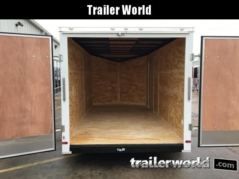 2019 CW 7' x 16' x 6.3' Vnose Enclosed Cargo Trailer