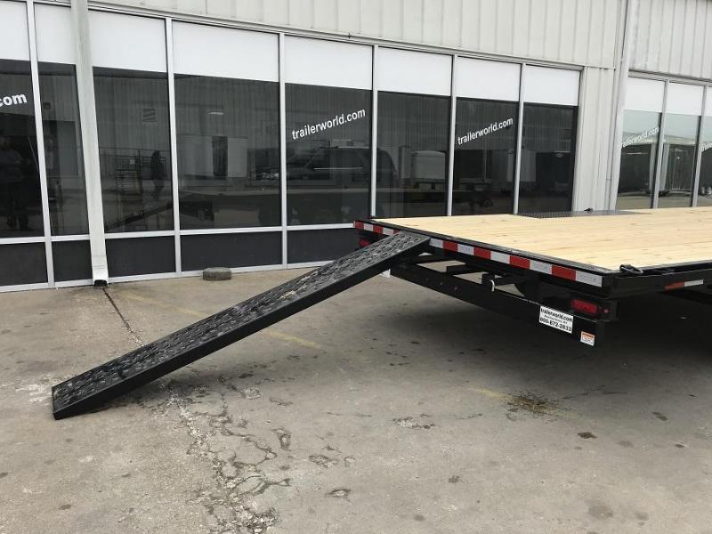 2019 Sure-Trac 8.5 X 18 Flat Deck Deckover 10k GVWR