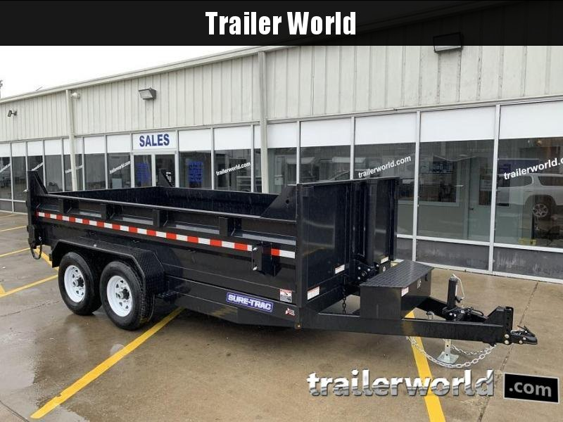 2019 Sure-Trac 14' 14K Telescopic Dump