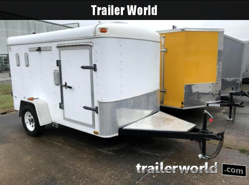 2002 United 6' x 10' Customized Enclosed Cargo Trailer