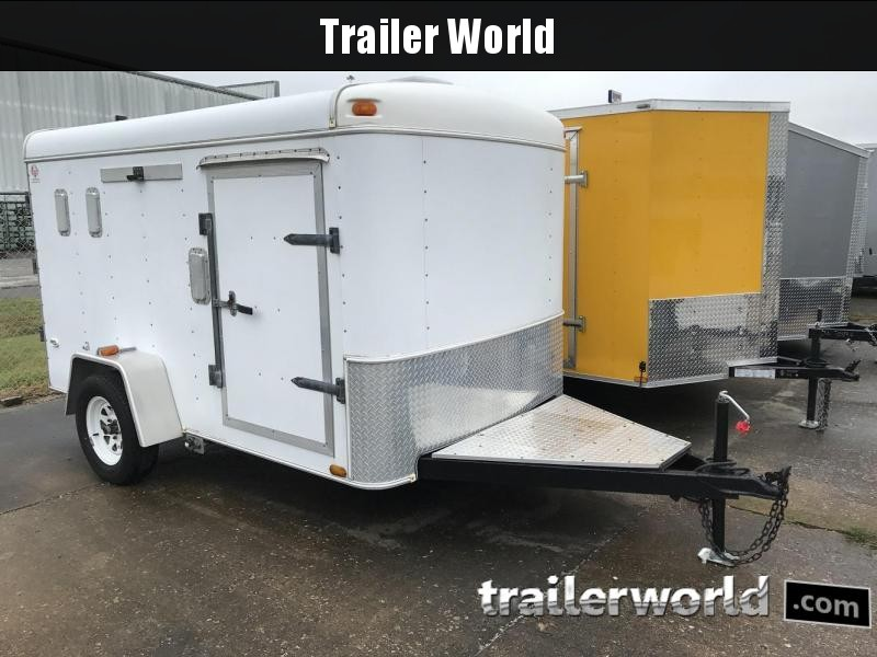 2002 United 6' x 10' Customized Enclosed Cargo Trailer in Ashburn, VA