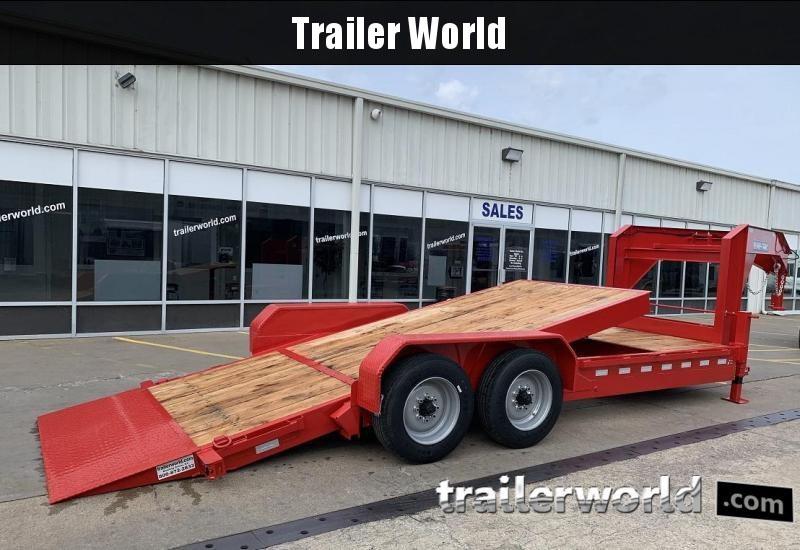 2019 Sure-Trac 16+4  16K GVWR Gooseneck Tilt Equipment Trailer