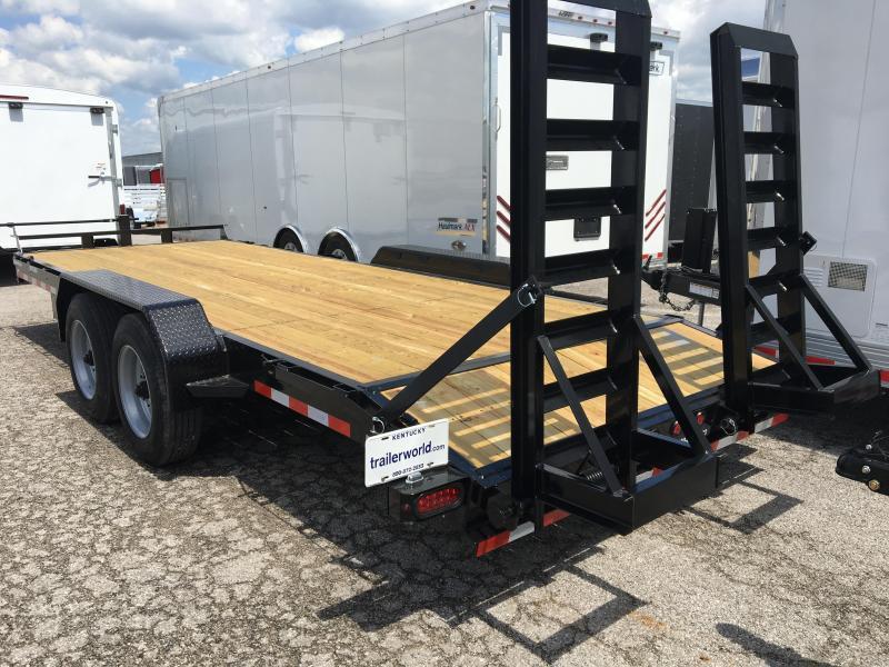 2019 Sure-Trac 20' Flatbed 16k GVWR Equipment Trailer