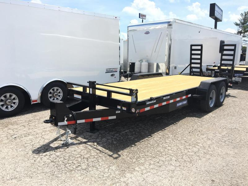 2019 Sure-Trac 20' Flatbed 16k GVWR Equipment Trailer