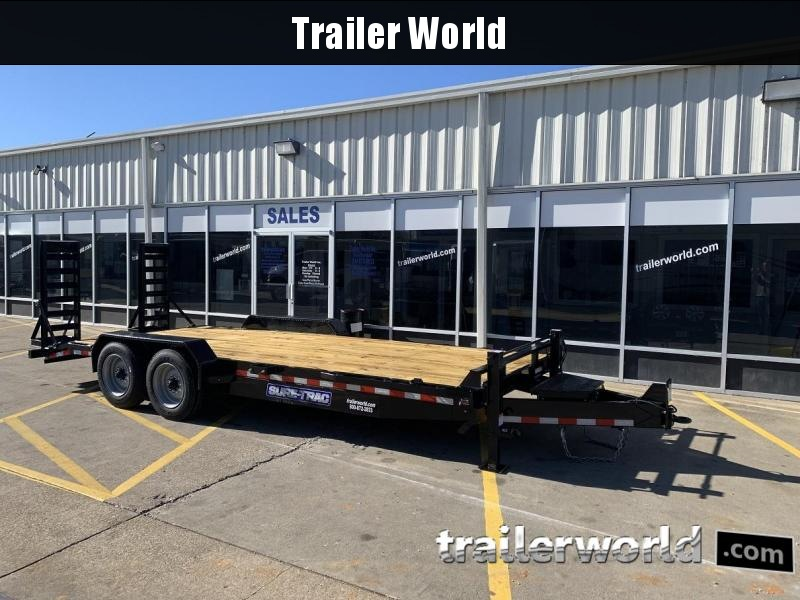 2019 Sure-Trac 20' Equipment Trailer 16k GVWR