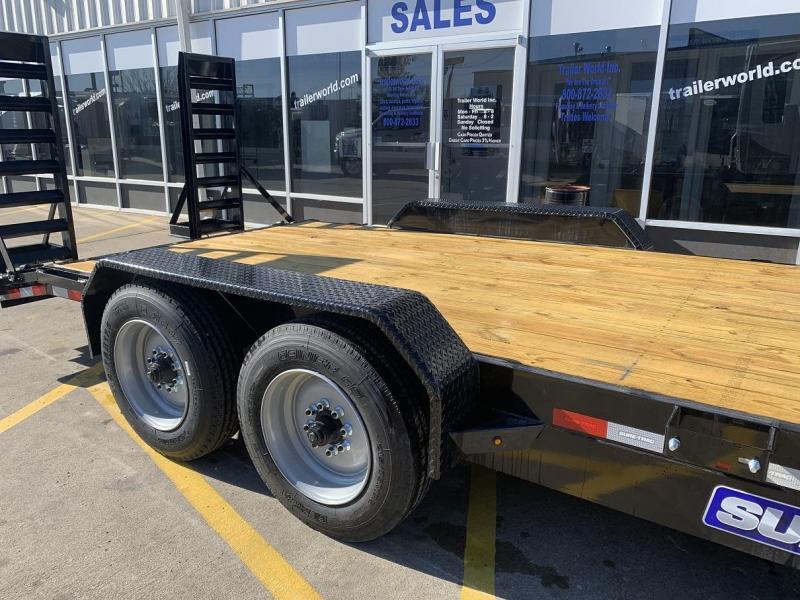 2019 Sure-Trac 20' Equipment Trailer 16k GVWR