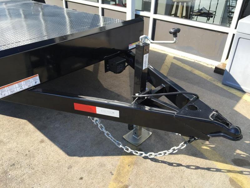 2018 Sure-Trac 20' Steel Deck Open Car Hauler Trailer 10k GVWR