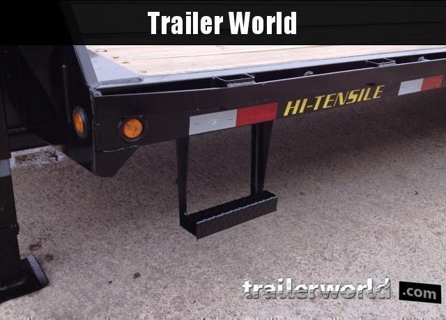 2020 Big Tex Trailers 22GN-20' + 5' Gooseneck Flatbed Trailer MEGA Ramps
