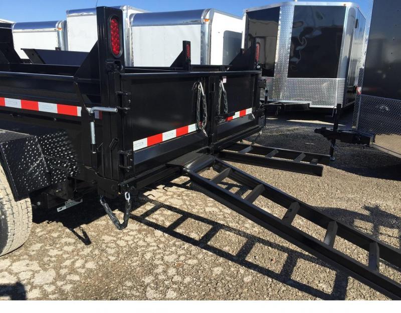 2019 Sure-Trac 72 IN x 10 LProfile 10K Single Ram Dump Trailer