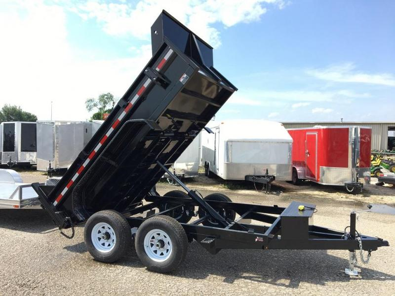 2019 Sure-Trac 72 IN x 10 LProfile 10K Single Ram Dump Trailer