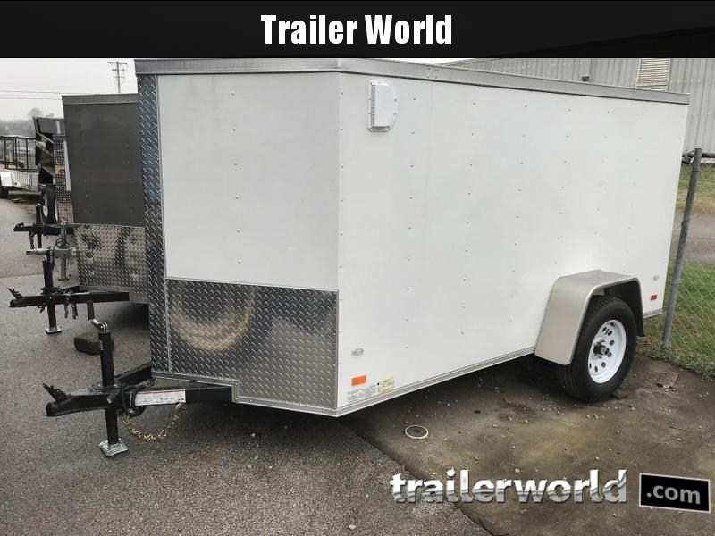 2018 CW 5' x 10' x 5' Vnose Enclosed Cargo Trailer