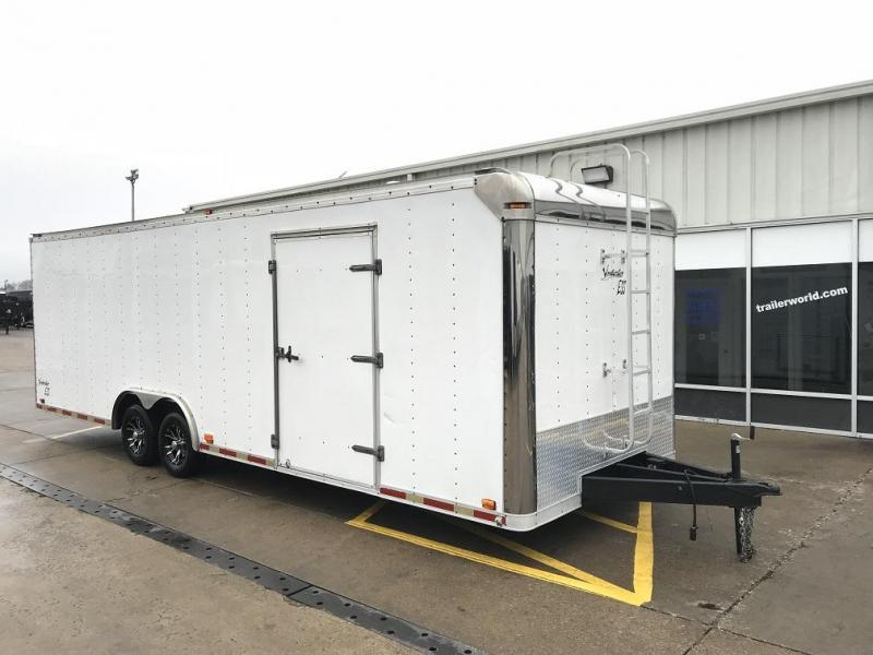 2000 Avenger 26' Enclosed Car Trailer