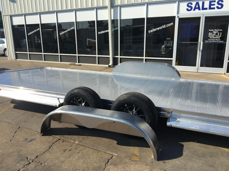 2019 Sundowner 19' Aluminum Tapered Front Open Car Hauler Trailer