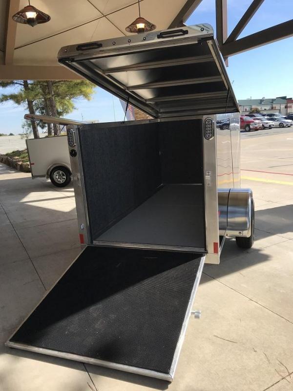 2019 Sundowner 4' x 10' MINI GO Enclosed Aluminum Cargo Trailer