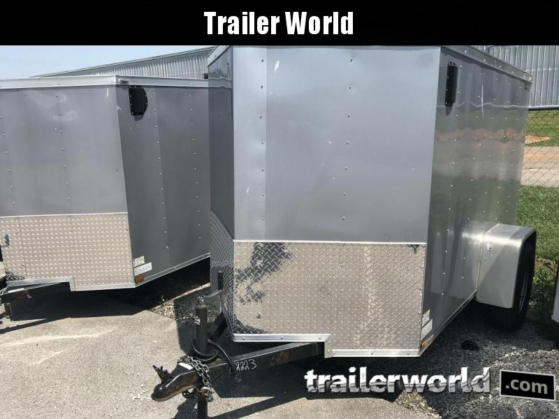 2019 Lark 5' x 8'  Enclosed Vnose Cargo Trailer