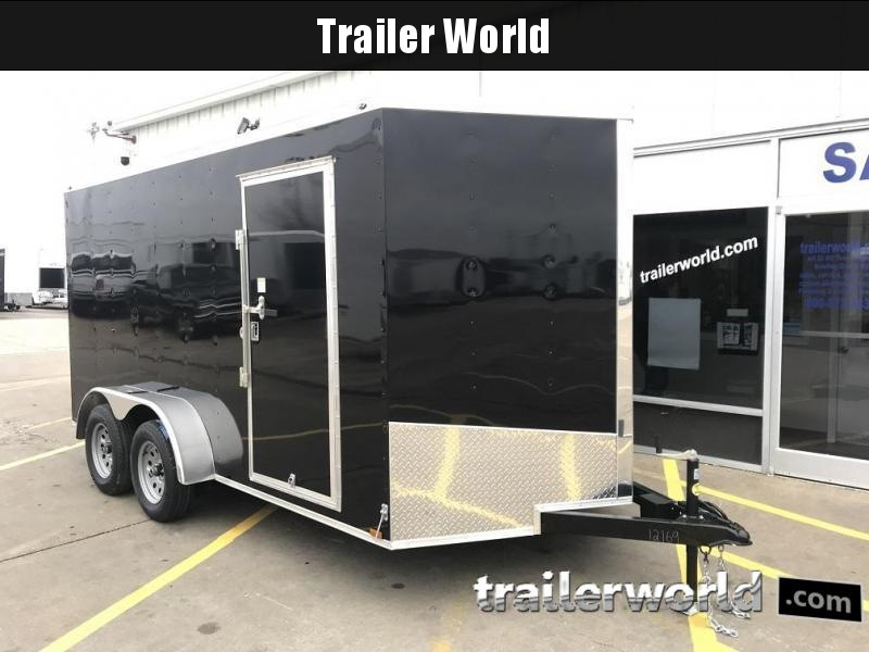 2019  Enclosed Cargo Trailer 7' x 14' x 6.6' Vnose