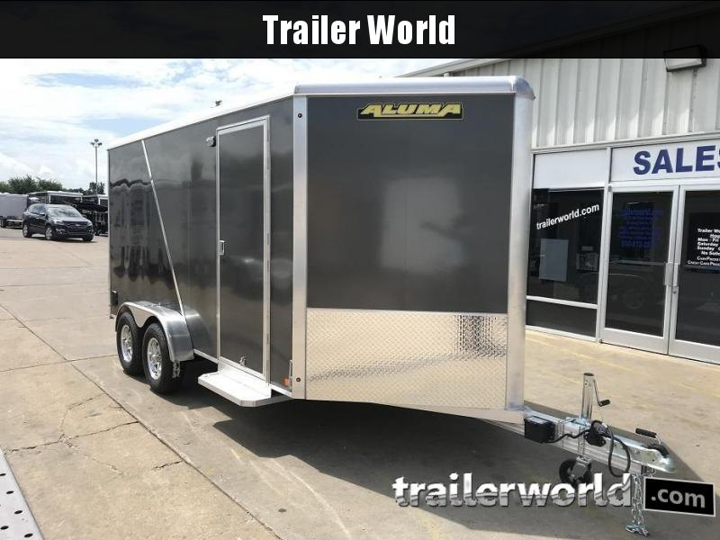 "2019 Aluma AE714 7' x 14' x 6'9"" Aluminum Enclosed Cargo Trailer"